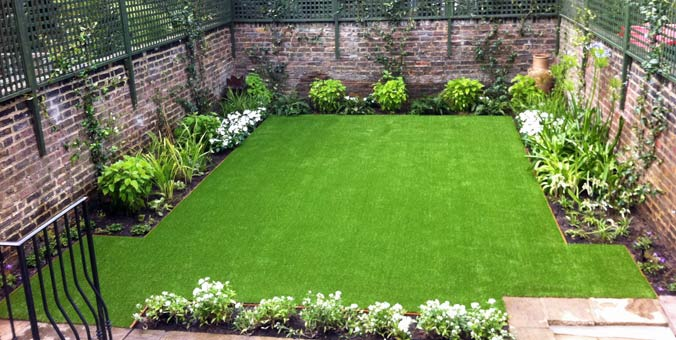 Installing A False Lawn To Your Garden